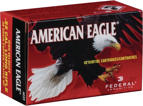 Federal AE 22 American Eagle .22LR munitie
